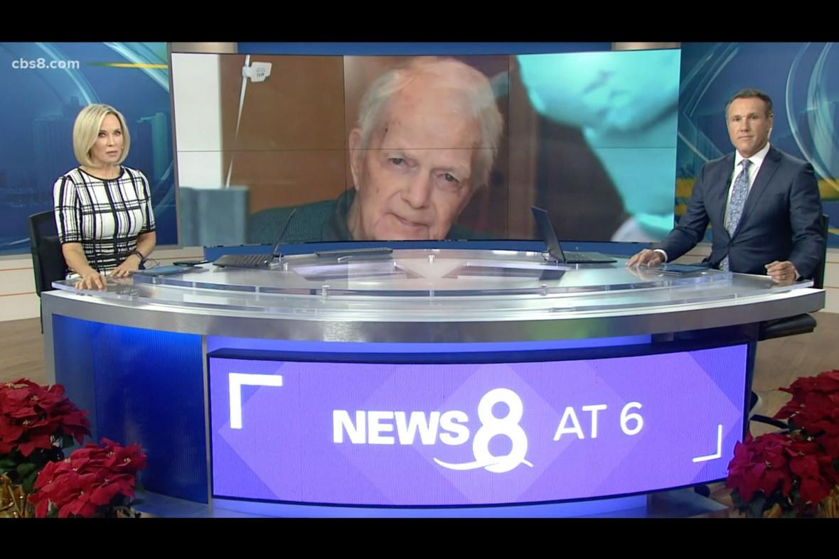CBS 8 news anchors introduce the