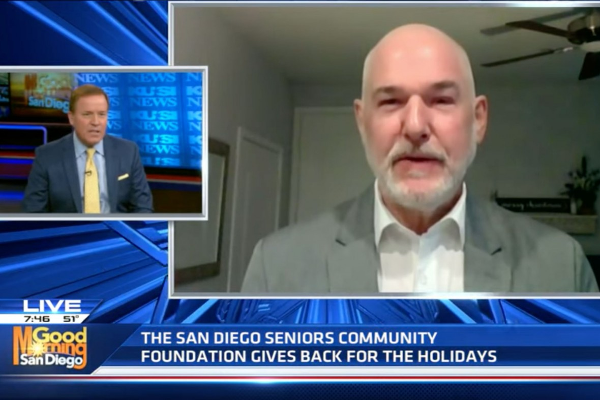 Joe Gavin appears on KUSI's Good Morning San Diego program with Jason Austell