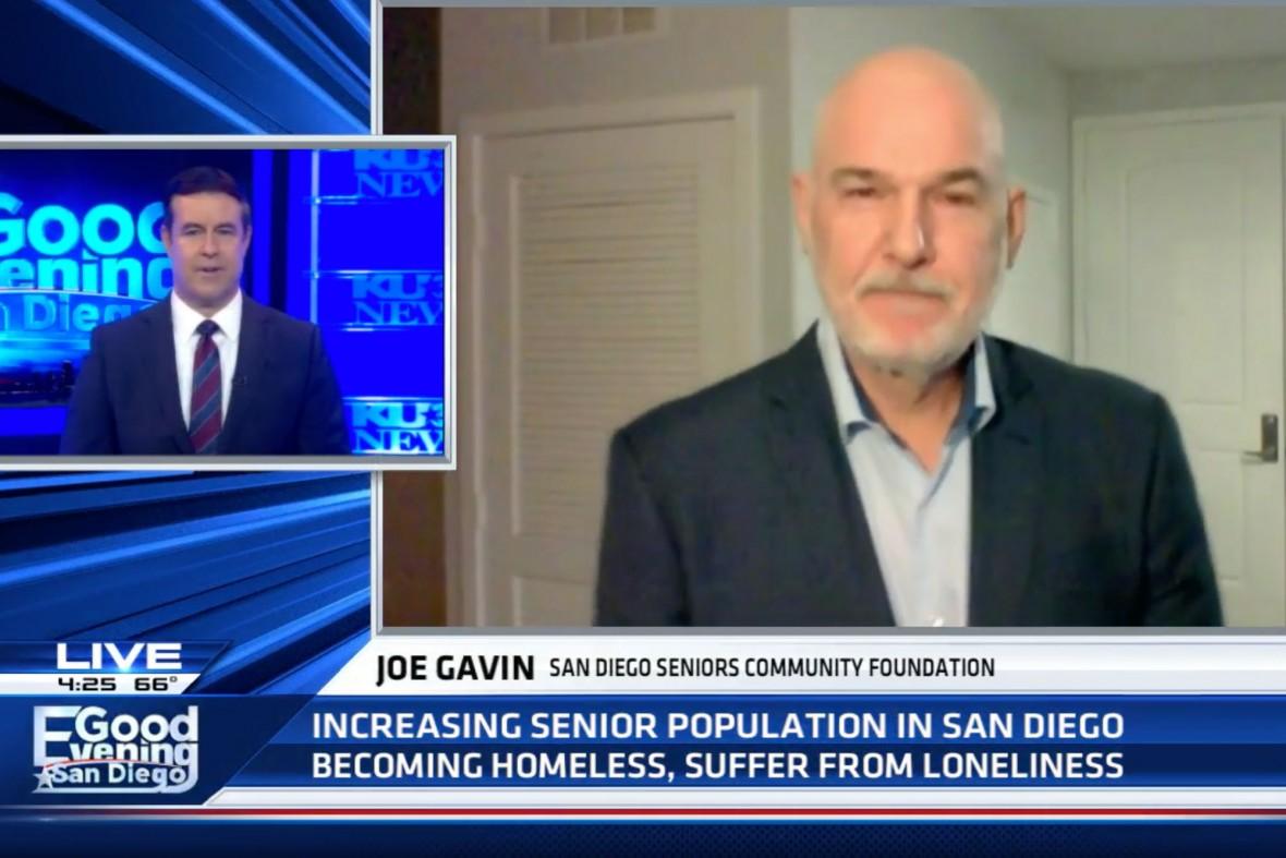 Joe Gavin speaks to KUSI's Good Evening San Diego