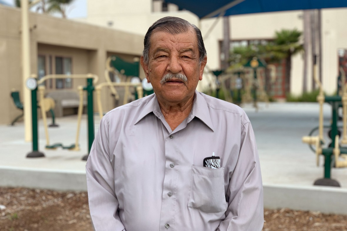 Luis Monge is a loving grandfather, a member of the CA Senior Legislature, and an advocate for local seniors.