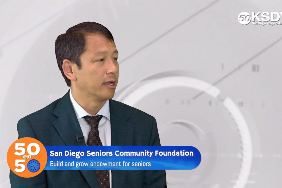Ted Chan on KSDY's 50 en 50 program